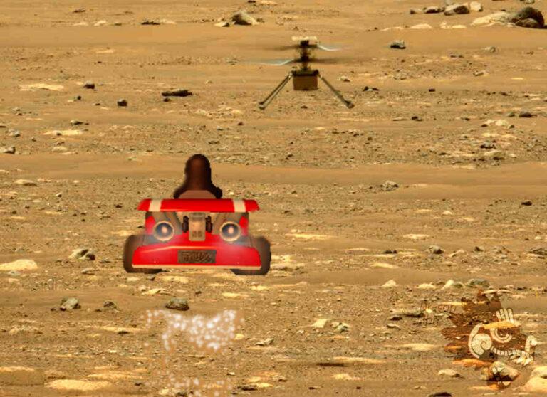 El Software Libre plantó bandera en Marte